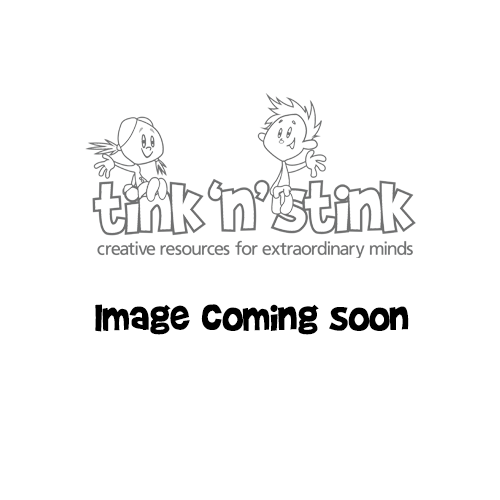 Luggage Tags in a Blue Stripe Fabric