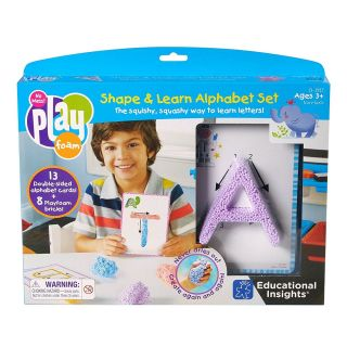 Learning Resources Sahpe and Learn Alphabet Set