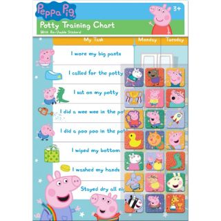 Peppa Pig Potty and Toilet Training Chart
