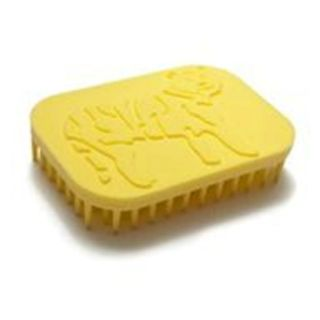 Tactile Tiger Brush and Hand Fidget Yellow