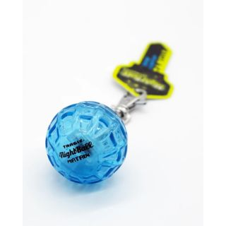 Tangle NightBall Keychain Ball Blue